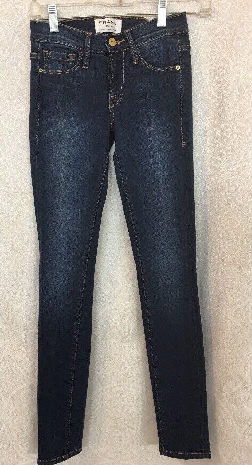 Frame Jeans Le Skinny De Jeanne Columbia Road bluee Size 23