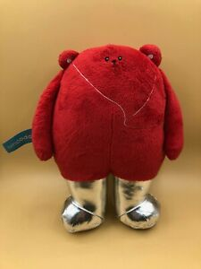 Official-Smoodoos-Pace-Plush-Soft-Stuffed-Toy-Doll-Red-Bear-Animal-Smoodoo