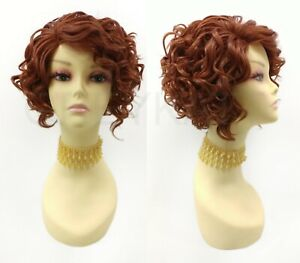 Details about Lace Front Short Curly Bright