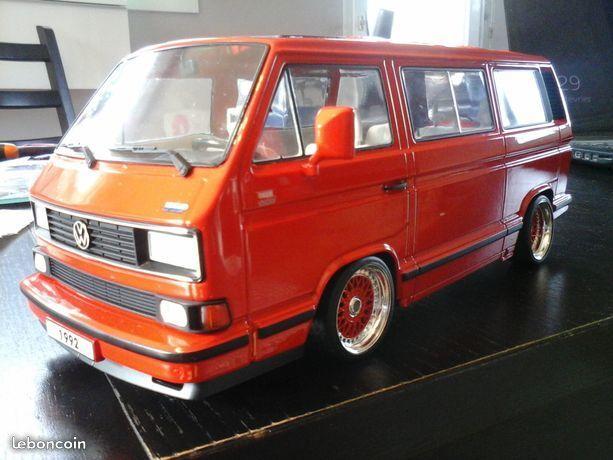 UNIQUE Volkswagen VW Bulli T3 Multivan BBS 1/18