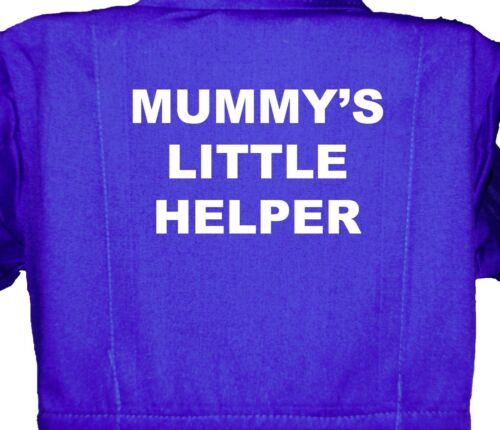 Mummy/'s Little Helper Childrens Overalls 1-8yrs Kids Coverall Boiler suit