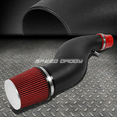 """6/""""FLARED PIPE SHORT RAM AIR INTAKE INDUCTION SYSTEM+RED FILTER FOR CIVIC EG EM"""