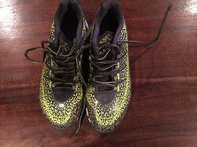 Boombah Mens Turf Shoe Size 7.5 Athletic Shoes