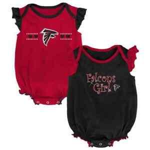 sports shoes bbe6a e96ec Details about ($30) Atlanta Falcons nfl INFANT BABY NEWBORN Jersey Shirt  0-3M 0-3 Months