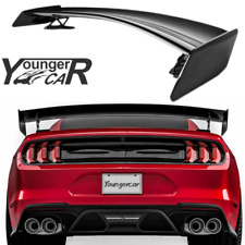 Rear Trunk Spoiler For 2015 2021 Ford Mustang Coupe Gt500 Cftp Style Gloss Black Fits Mustang