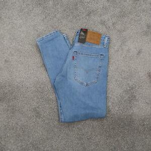 Levi's 512 Premium Slim Taper Leg Light Blue Pants Men's 31x30 NWT