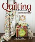 Quilting from Little Things... by Sarah Fielke (Mixed media product)