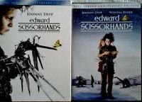 Edward Scissorhands - Johnny Depp, Winona Ryder - Dvd With Slip Cover - Sealed