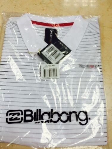 Kids Boys Billabong Lucide Boy White Polo Shirt T Shirt Age 8,10,12,14,16 Years