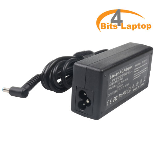 HP 65W Power Adapter Charger Compatible HP 14-BW020NA Laptop Power AC Adapter