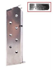 USGI-1911-45acp-7-RD-Round-Colt-Magazine-Clip-Mag-Clip-Stainless-Steel