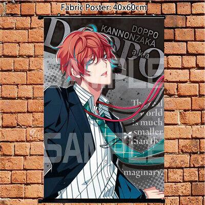 Hypnosis Mic Division Rap Battle Kannonzaka Doppo Cloth Poster Wall Scroll 60cm
