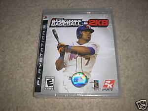 Major-League-Baseball-2K8-PlayStation-3-PS3-GAME-NEW