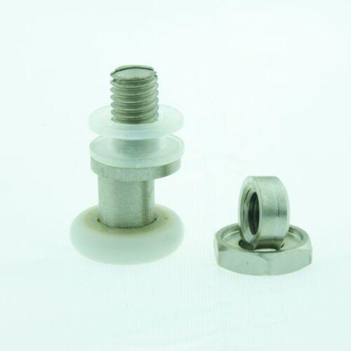 8 x Partiality Shower Door Rollers //Runners//Wheels//Pulleys diameter L004