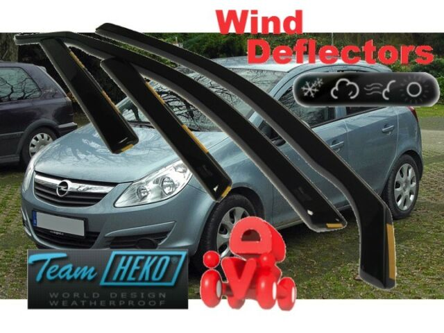 CLIMAIR Car Wind Deflectors OPEL VAUXHALL ANTARA 2006 onwards FRONT