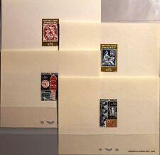 FRANCE FRANKREICH 1964 1467-70 1085-88 DELUXE Philatec Paris Post Machine stamps