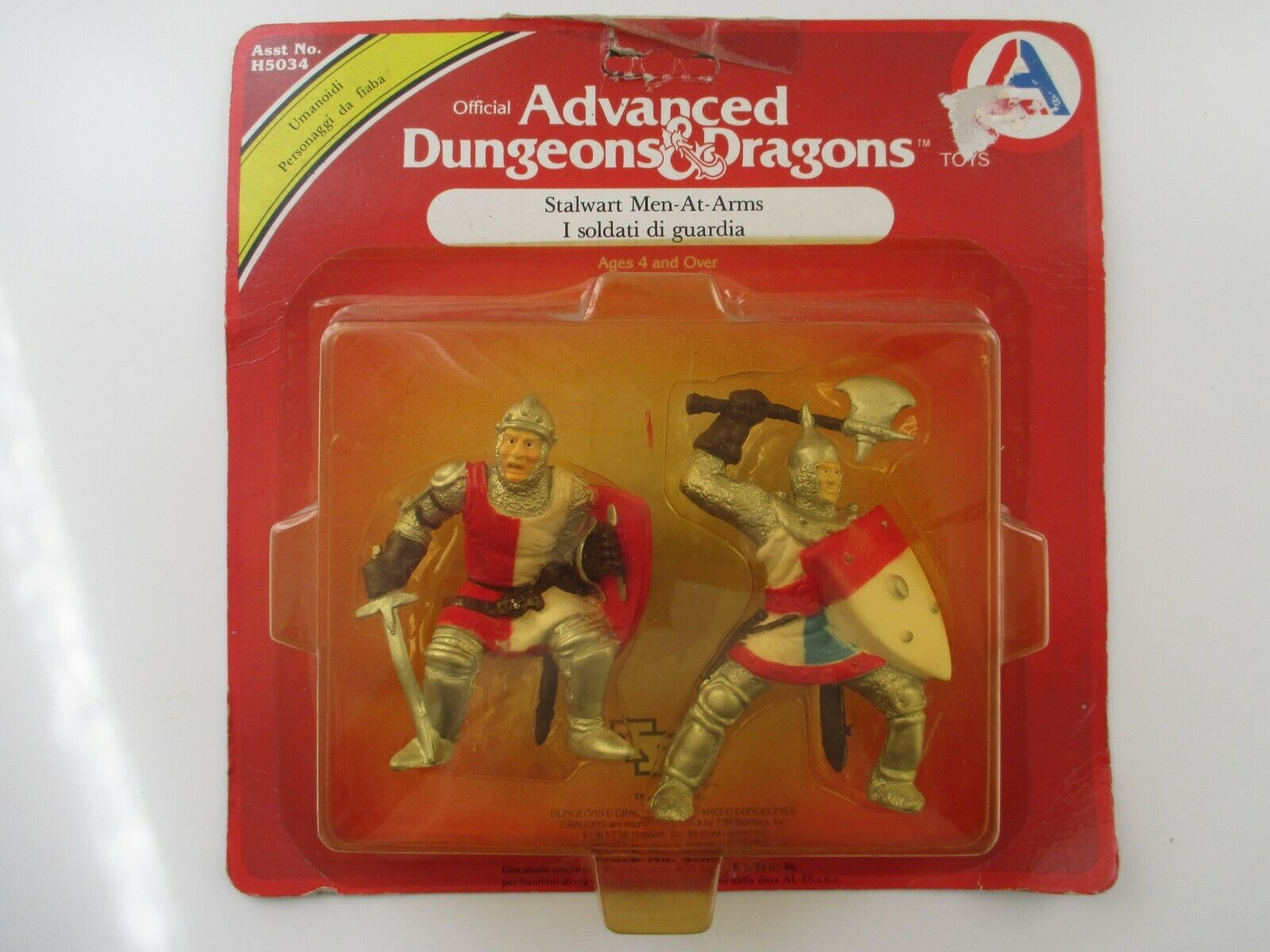 STALWART MEN-AT-ARMS ADVANCED DUNGEONS & DRAGONS HOBBIES 5006 NEUF SCELLE 1983