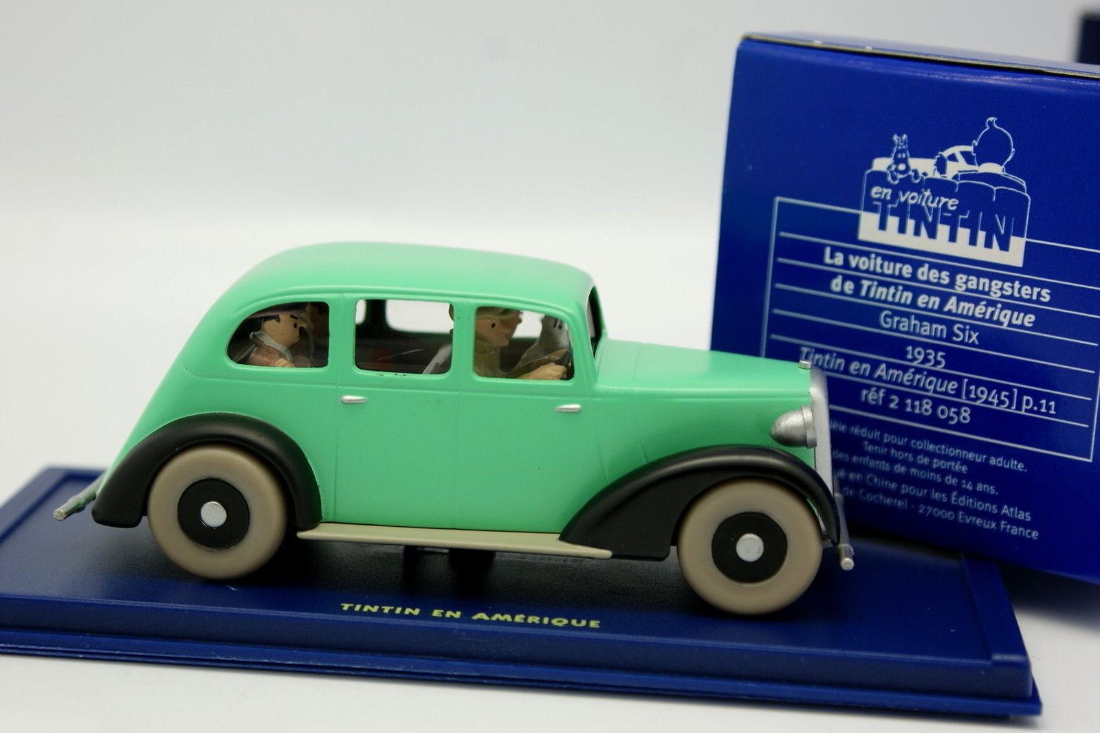 En En En Coche Tintin 1 43 - Graham Six - En América 196395