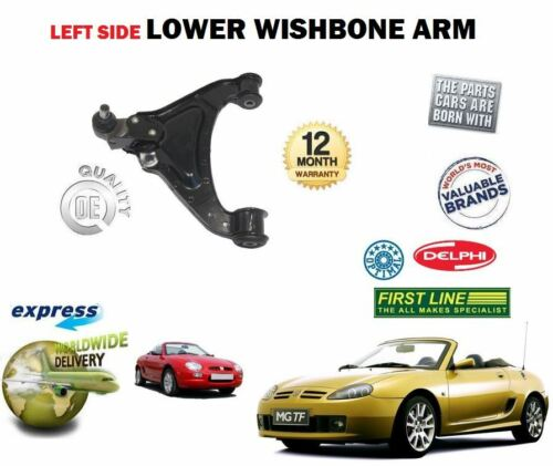 MG MGF 1.6 1.8 16V VVC 1995-2002 NEW LEFT SIDE LOWER WISHBONE ARM /& BALL JOINT
