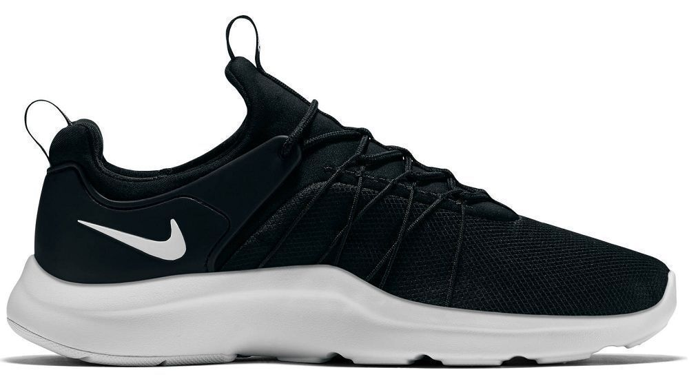 NEW NIKE DARWIN BLACK WHITE CASUAL SHOE RUNNER Comfortable Casual wild