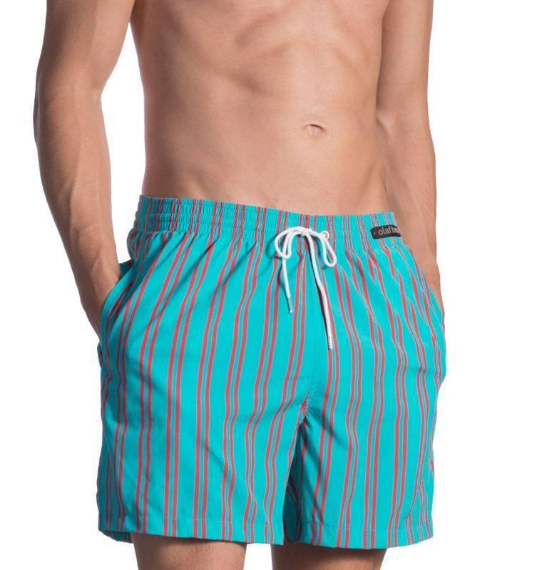Olaf Benz Badeshorts Bermuda M azur blue1660 107610