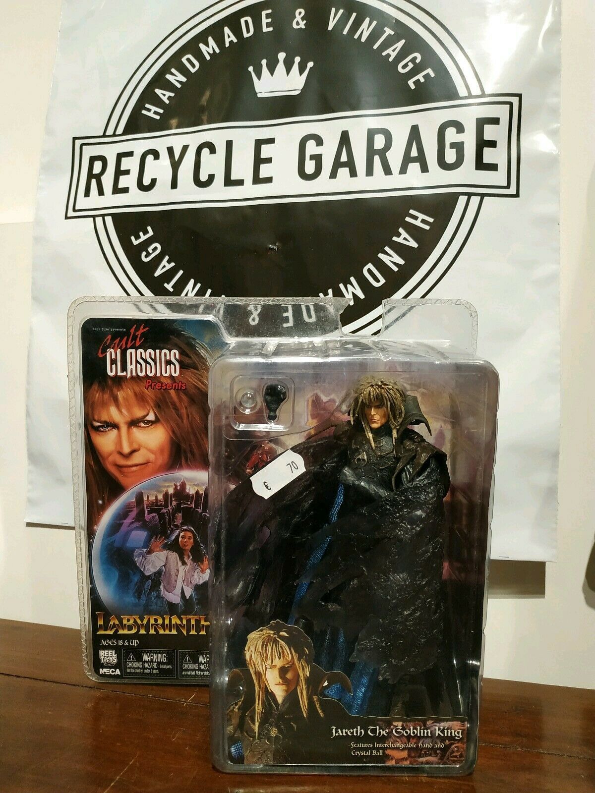 DAVID BOWIE NECA ORIGINAL MEGARARE WITH scatola VINTAGE ROCK POP