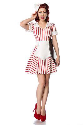ATX 80046 Kostüm Diner Waitress Bedienung Kellnerin Uniform Retro 50er Jahre