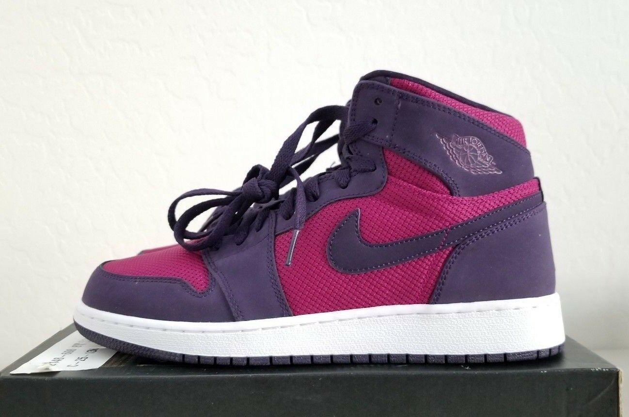 Nike Air Jordan 1 Retro High GG 332148 Men's 608 True Berry Size 8Y= Men's 332148 8 b6f983