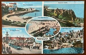 Portrush Multiview Postcard Co Antrim Northern Ireland