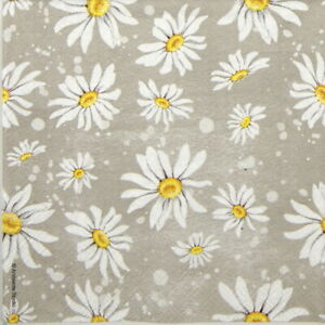 Decoupage Craft Daisy Day bunny 4x Paper Napkins for Party