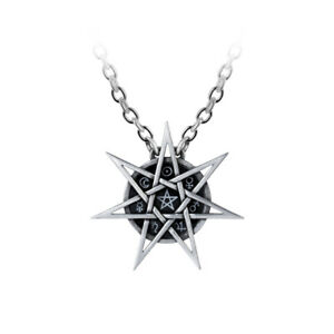 Elven-Star-Pendant-Alchemy-Gothic-Septagram-Pentagram-Wiccan-Jewellery-P878
