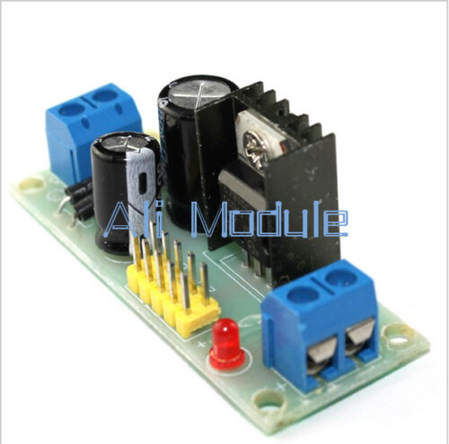 LM7805 L7805 Step Down Converter 7.5V-35V to 5V Regulator Power Supply Module AM