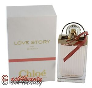 Love Story Eau Sensuelle by Chloe Edp 2.5oz 75ml Spray For Women New ... 081fc71cb4