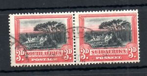 South-Africa-1927-30-3d-pair-SG35-fine-used-WS19218