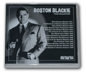 BOSTON BLACKIE FILM COLLECTION - 14 MOVIES - 7 DVD-R wi