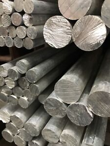 Aluminium-Solid-Bar-Stock-Round-Rod-Metal-1-4-034-1-034-Diameter-1000mm-Lengths