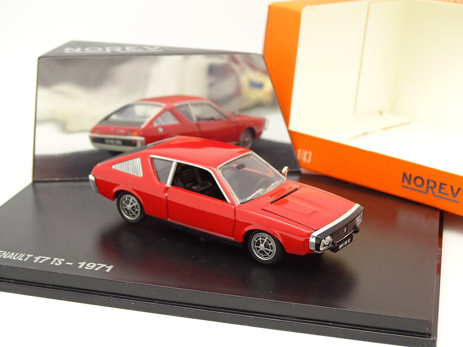 Norev 1 43 - Renault 17 Ts 1971 Rojo