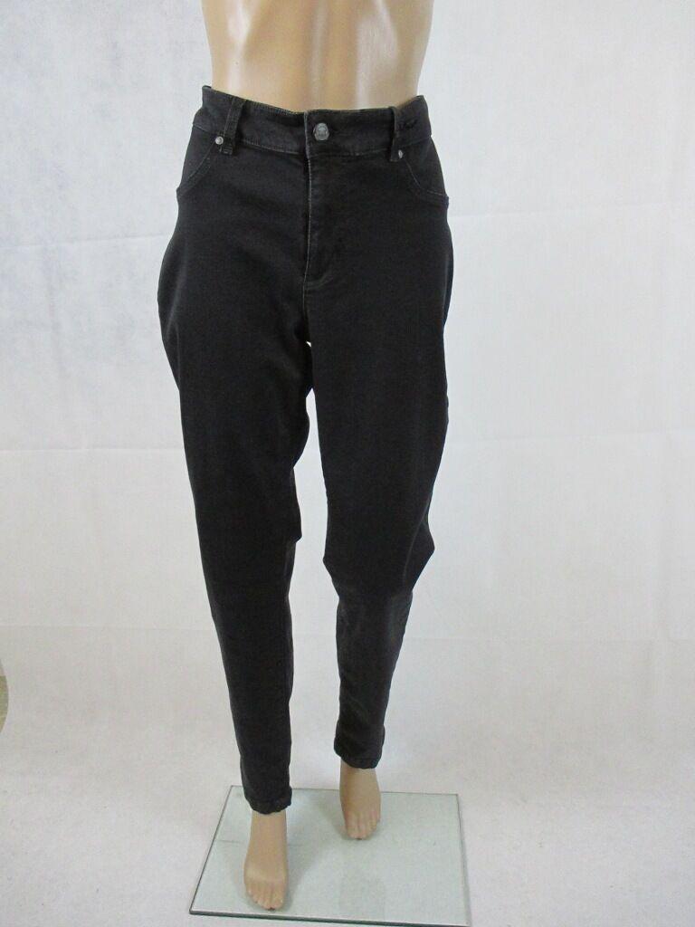 Riani Jeans Body fit, black, figurbetonend geschnitten, Größe 44