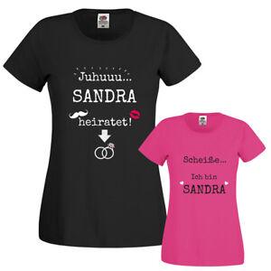 T Shirt Für Den Junggesellinnenabschied Braut Trauzeugin 100