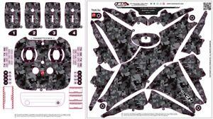 Wrap-Skin-For-DJI-PHANTOM-4-Quadcopter-Drone-Digital-Camo-Black