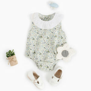 Sale-Newborn-Infant-Baby-Boy-Girls-Floral-Print-Jumpsuit-Rompers-Outfits-Clothes