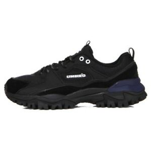 huge selection of 60caa 9d037 Details about UMBRO New BUMPY Ugly Sneaker Dad Shoes Black Navy U9123CCR13  Sz 4-12