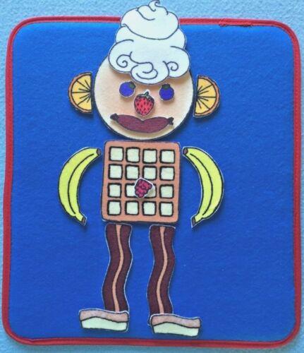 Flannel Board Set Flip Flap Jack Felt