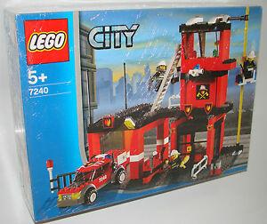 LEGO-City-7240-Feuerwehr-Hauptquartier-NEU-OVP-Fire-Station-NEW-MISB-NRFB