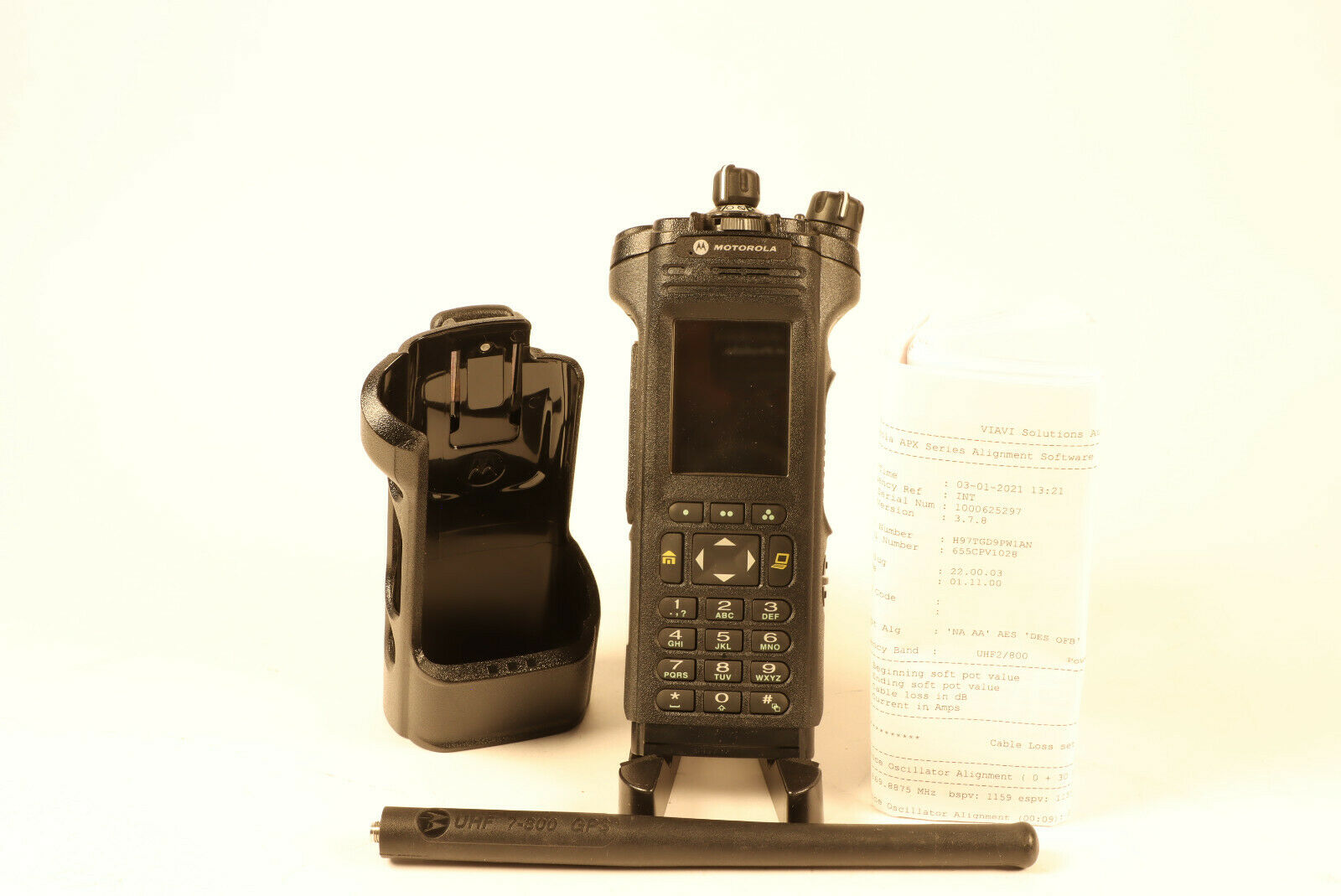 Motorola APX7000  700-800 / UHF2(5) Algo's w/ antenna Holster *No Tag. Available Now for 2200.00