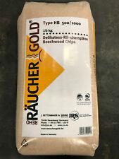 Rettenmaier Räuchergold HB 500-1000 15kg Räucherspäne Räuchermehl