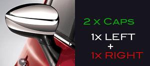 2x-FIAT-500-FIAT-GRANDE-PUNTO-CHROME-LOOK-MIRROR-CAPS-REPLACEMENT-BRAND-NEW