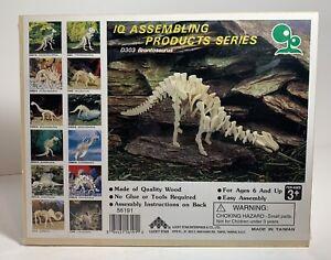 Brontosaurus 3D Wooden Puzzle IQ Assembling