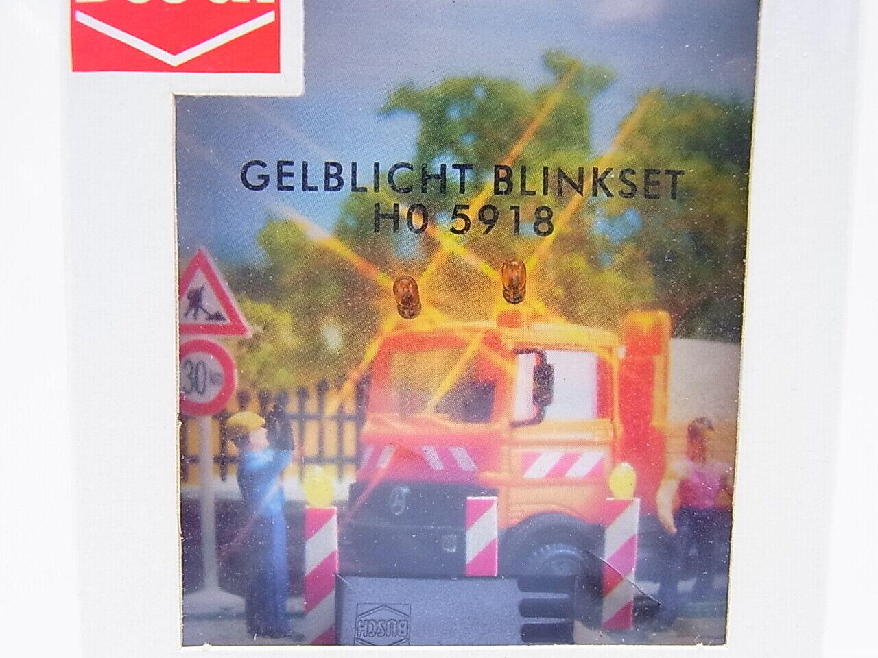 Busch-5918 H0 Gelblicht-Blinkset