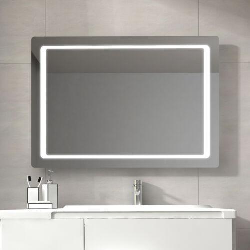 LED Lighted Bathroom Mirror Wall Mounted Mirror with Sensor Switch 48x24 Bath